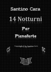 Book of scores of 14 Nocturnes for piano + 14 audio mp3