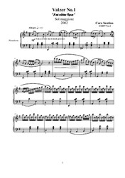 Two Waltzes for Piano